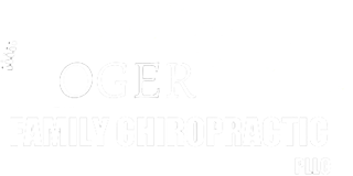 Rogers Family Chiropractic White Logo